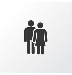 couple icon symbol premium quality isolated vector image vector image