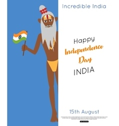 India independence day poster vector