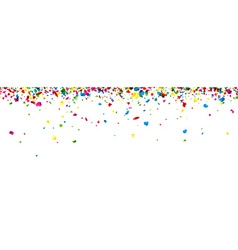 Banner with painted drops vector image