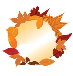 Autumn Frames vector image vector image