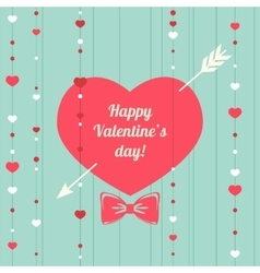 Happy valentines day design template valentine s vector