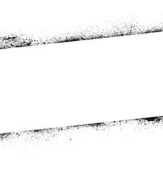 Ink blots frame banner vector
