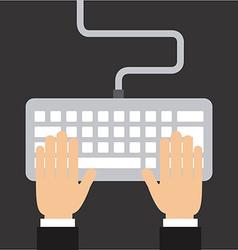 Keyboard design vector
