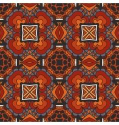 seamless ethnic geometric pattern vector image