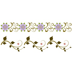 Ukrainian ornament vector image vector image