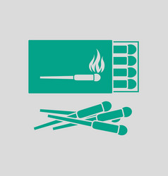 Match box icon vector