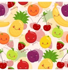 Bright background of fruit vegetarian food vector