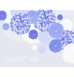 Seamless with flowers vector