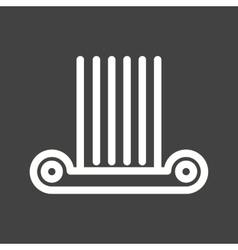 Column vector image vector image