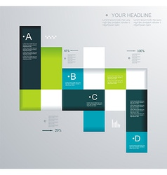 Modern design can be used for book cover lay out vector