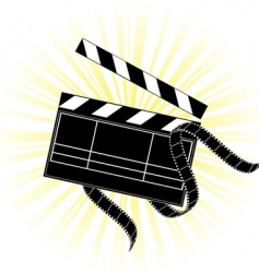 Movie equipment vector