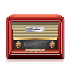 object radio vector image vector image