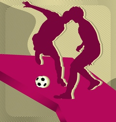 sport background soccer vector image
