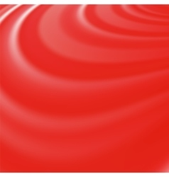 Abstract glowing red waves vector