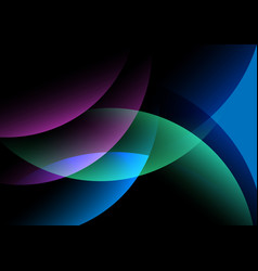 Abstract light shape background vector