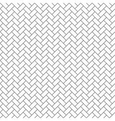 Parquet diagonal seamless pattern vector