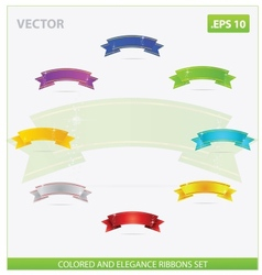 swirl elegance vector image vector image