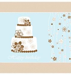 Wedding Greeting Card vector image