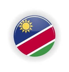 Namibia icon circle vector