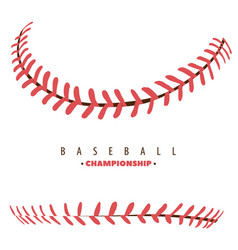 Baseball competition poster vector