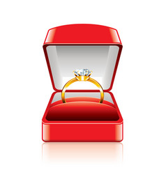 Object ring box vector