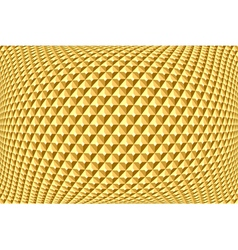 Geometric golden pattern vector