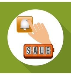 Sale design social media icon ecommerce concept vector