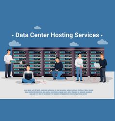 Datacenter hosting vector