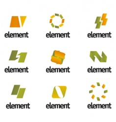 design elements vector image vector image
