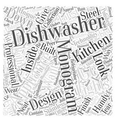 Ge monogram dishwashers why they are handy word vector