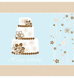 Wedding Greeting Card vector image vector image