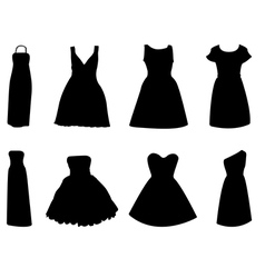 Woman dress vector