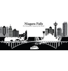 Niagara falls vector