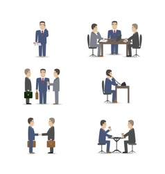 Business negotiations vector