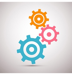 Abstract Cogs - Gears vector image vector image