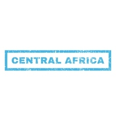 Central Africa Rubber Stamp vector image