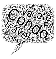 Home away from home benefits of condos over hotels vector