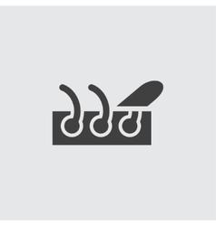 Shaving icon vector