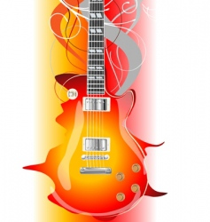 guitar legends vector image