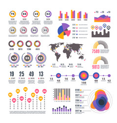 Business strategy modern presentation infographic vector
