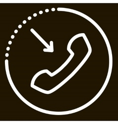 call icon sign vector image