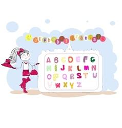 French alphabet alphabet franais vector