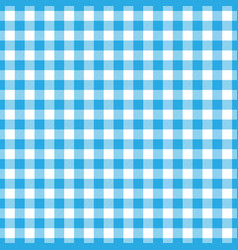 Lumberjack plaid pattern in blue and black vector