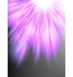 Purple glitter particles background effect EPS 10 vector image