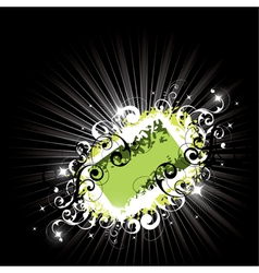 bright composition vector image
