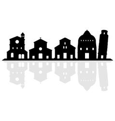 Pisa skyline vector