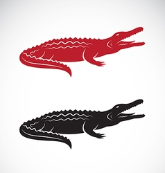 image of an crocodile design vector image