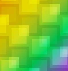 Square shape abstract on colorful background vector image vector image
