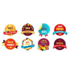 best sale 2017 autumn discount buy now hot price vector image vector image