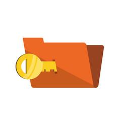 Folder password key empty vector